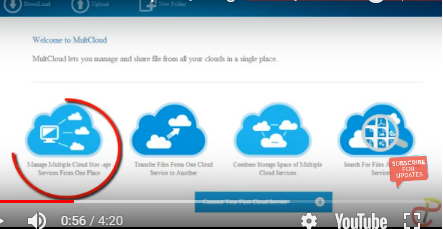Link All Your Cloud Account Together