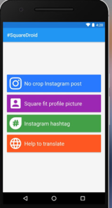 Use a full size image as whatsapp profile picture