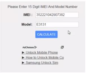 Unlock Huawei E3131