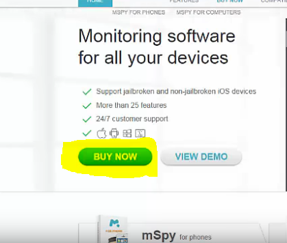 Install mspy on android