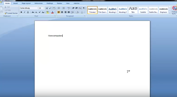 password on Microsoft word Document