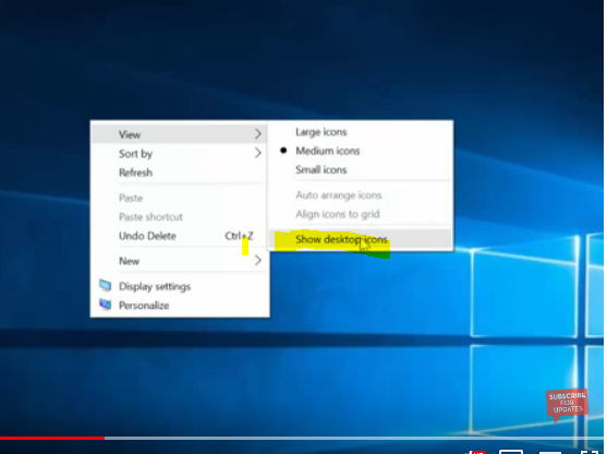 how to change text on desktop icons windows 10