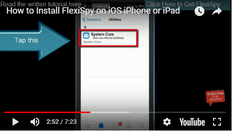 How to monitor or track any iPhone or iPad with FlexiSpy