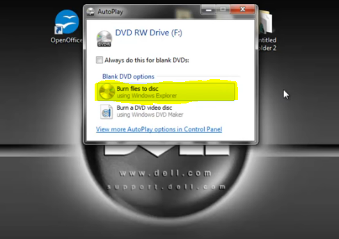 use CD/DVD Discs as flash drive
