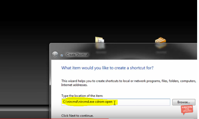 How to eject CD/DVD drivers using a shortcut