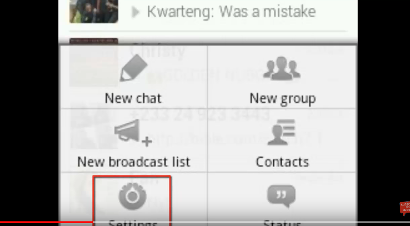 hide or disable last seen on whatsApp