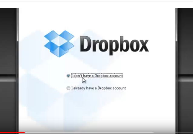 send larger files to others using dropbox