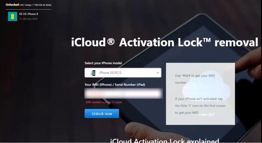 Icloud Unlock Trick